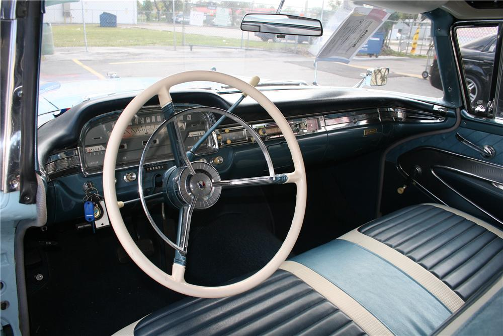 1959 FORD GALAXIE CONVERTIBLE - Interior - 170287