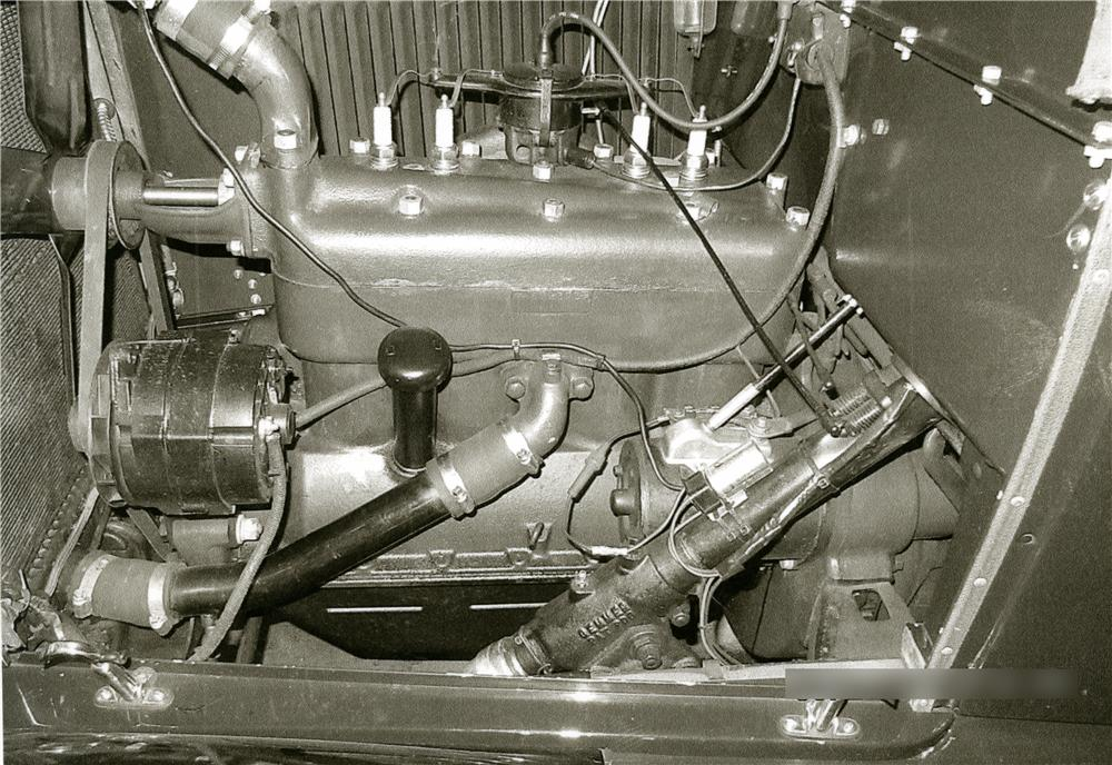 1929 FORD MODEL A PHAETON - Engine - 170294