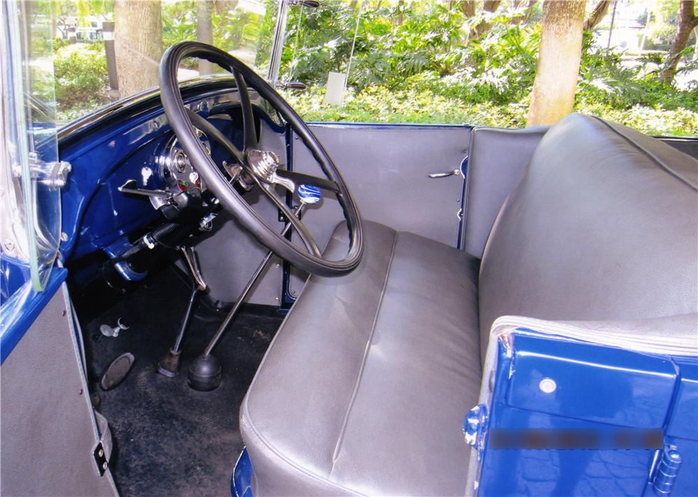 1929 FORD MODEL A PHAETON - Interior - 170294