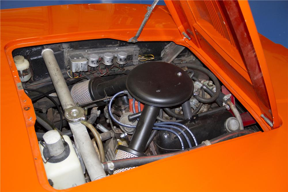 1972 SAAB SONETT III 2 DOOR COUPE - Engine - 170295