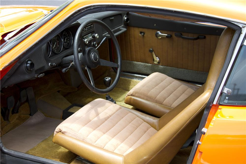 1972 SAAB SONETT III 2 DOOR COUPE - Interior - 170295