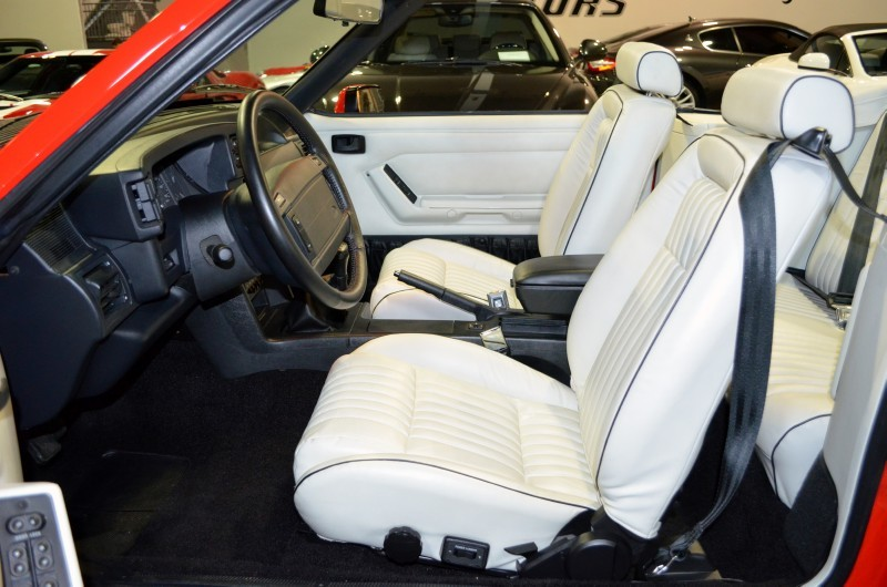 1992 FORD MUSTANG CONVERTIBLE - Interior - 170304