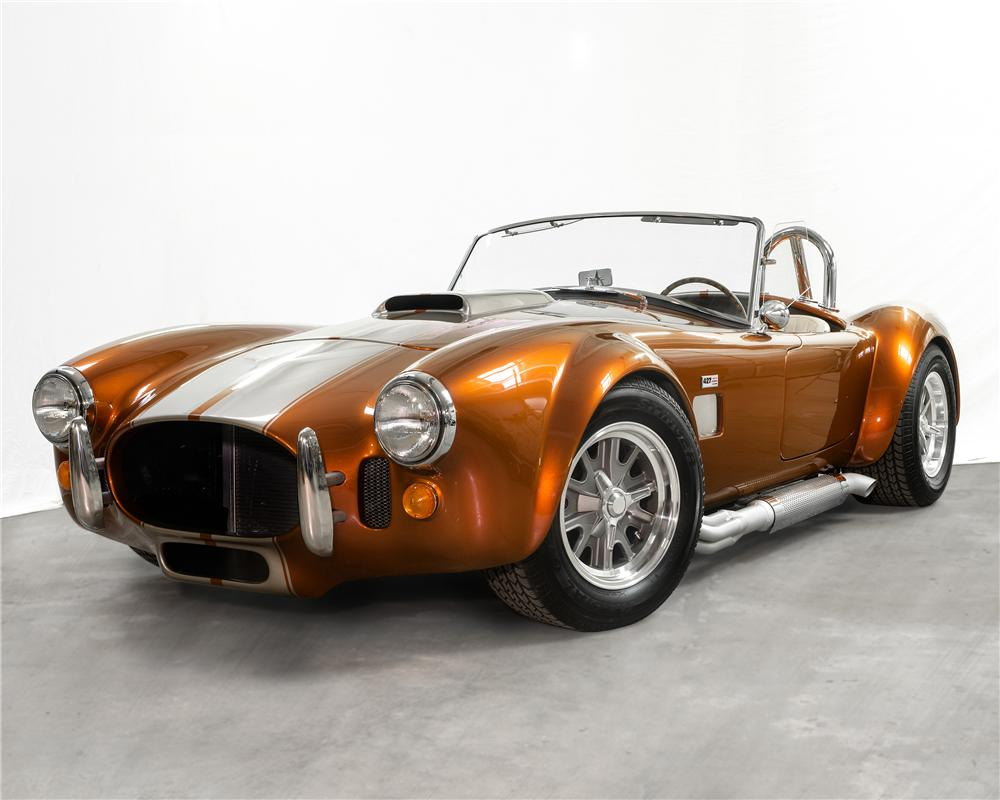 1966 B & B MANUFACTURING, INC COBRA RE-CREATION ROADSTER - Front 3/4 - 170306