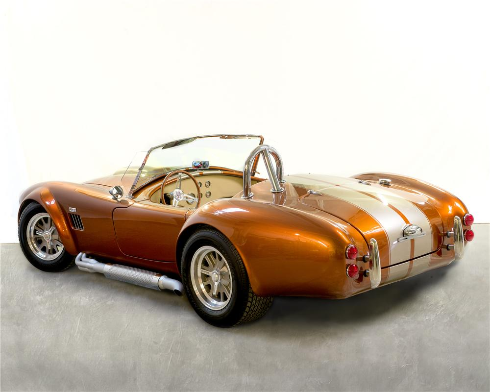 1966 B & B MANUFACTURING, INC COBRA RE-CREATION ROADSTER - Rear 3/4 - 170306