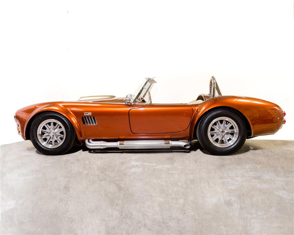 1966 B & B MANUFACTURING, INC COBRA RE-CREATION ROADSTER - Side Profile - 170306