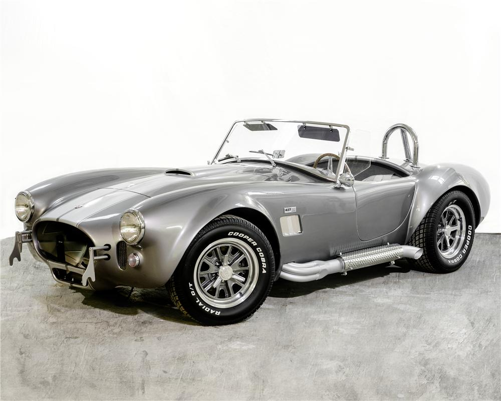 1966 B & B MANUFACTURING, INC COBRA RE-CREATION ROADSTER - Front 3/4 - 170307