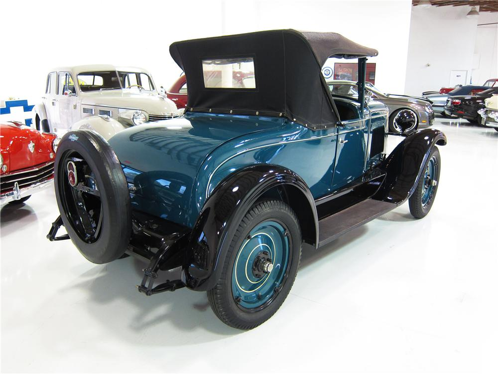 1928 CHEVROLET AB NATIONAL ROADSTER - Rear 3/4 - 170309