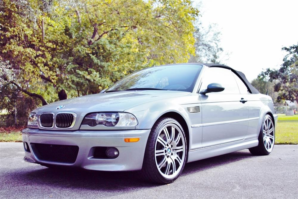 2006 BMW M3 CONVERTIBLE - Front 3/4 - 170321