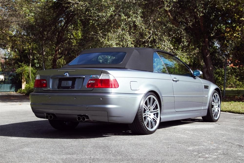 2006 BMW M3 CONVERTIBLE - Rear 3/4 - 170321
