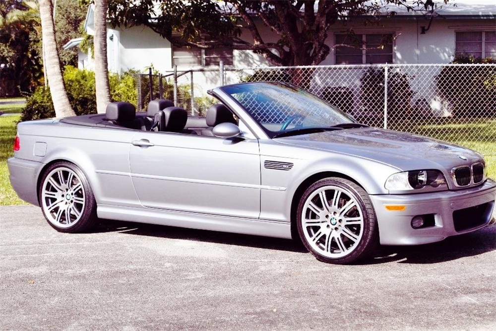 2006 BMW M3 CONVERTIBLE - Side Profile - 170321