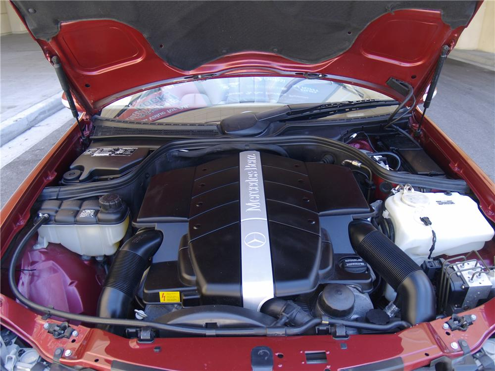 2001 MERCEDES-BENZ CLK430 CONVERTIBLE - Engine - 170326