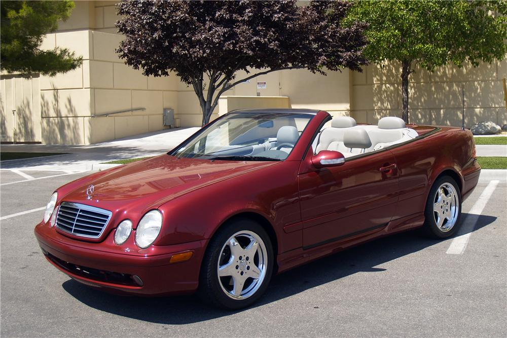 2001 mercedes benz clk430 convertible front 3 4 170326. Cars Review. Best American Auto & Cars Review