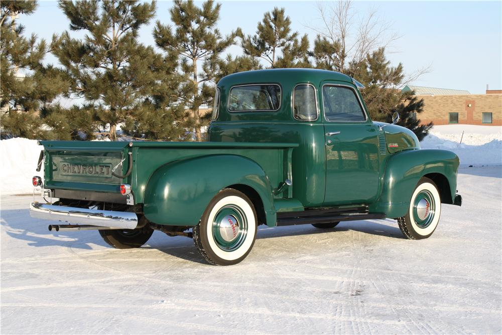 1948 CHEVROLET 3100 PICKUP - Rear 3/4 - 170327