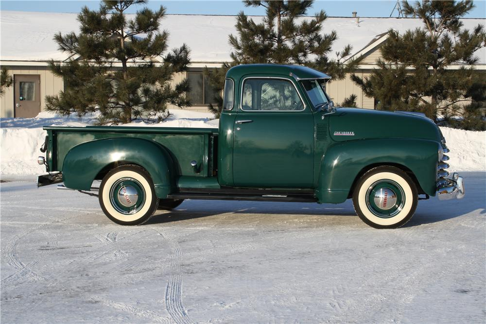 1948 CHEVROLET 3100 PICKUP - Side Profile - 170327