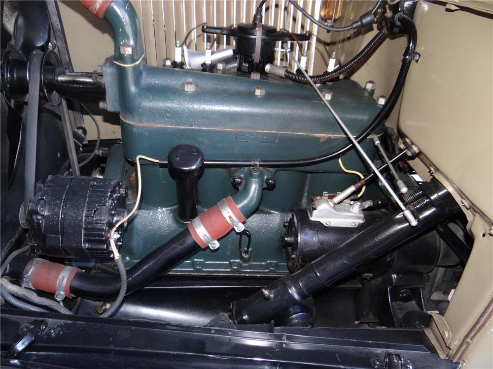 1928 FORD MODEL A 4 DOOR PHAETON - Engine - 170332