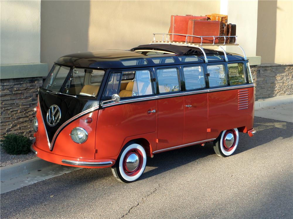 1958 volkswagen 23 window custom bus 170339