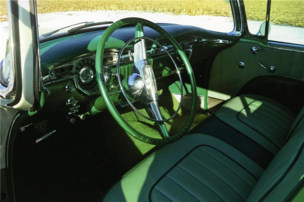 1954 OLDSMOBILE 98 2 DOOR HARDTOP - Interior - 170347