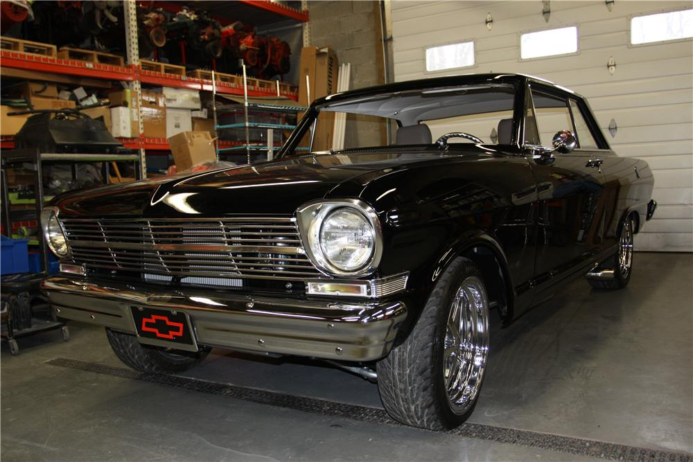 1962 CHEVROLET NOVA CUSTOM 2 DOOR HARDTOP - Front 3/4 - 170348