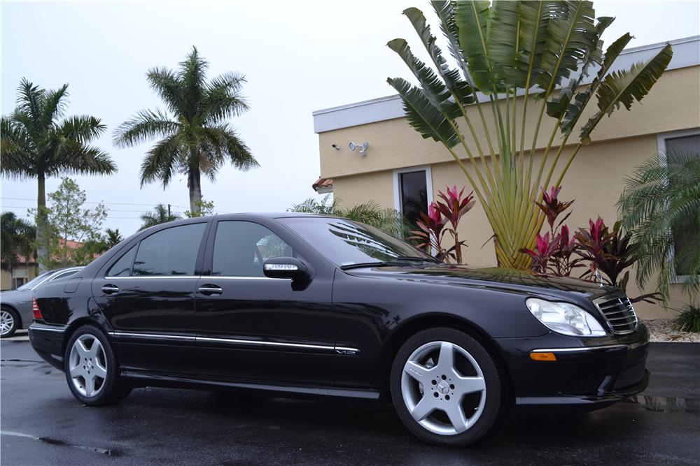 2003 Mercedes Benz S600 4 Door Sedan