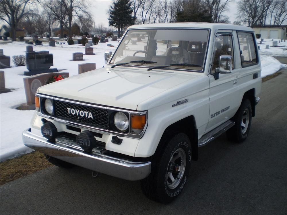 1987 toyota land cruiser 4x4 suv 170355. Black Bedroom Furniture Sets. Home Design Ideas