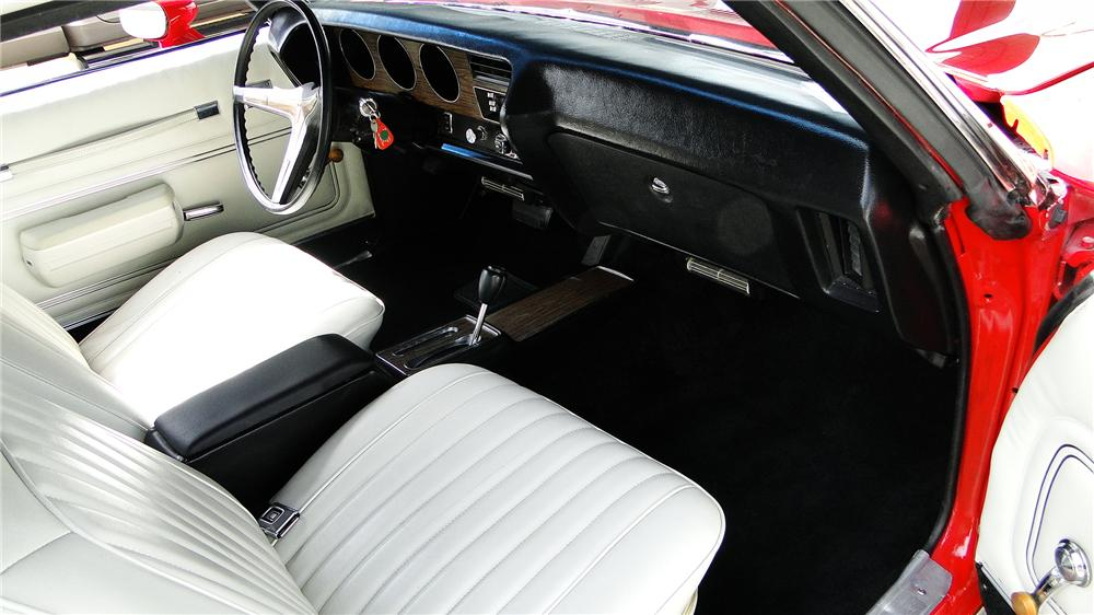 1972 PONTIAC LEMANS CUSTOM CONVERTIBLE - Interior - 170360