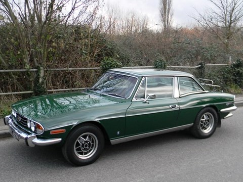 1972 TRIUMPH STAG ROADSTER - Front 3/4 - 170365