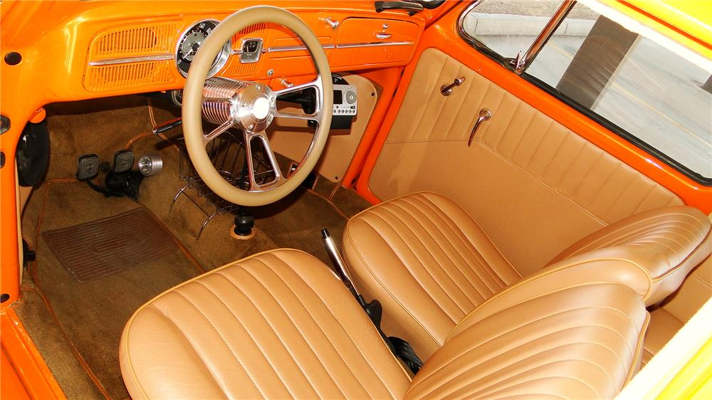1966 VOLKSWAGEN BEETLE CUSTOM 2 DOOR SEDAN - Interior - 170371