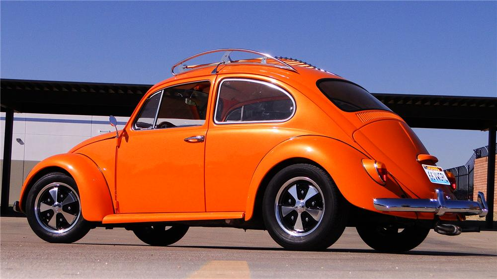 1966 VOLKSWAGEN BEETLE CUSTOM 2 DOOR SEDAN - Side Profile - 170371