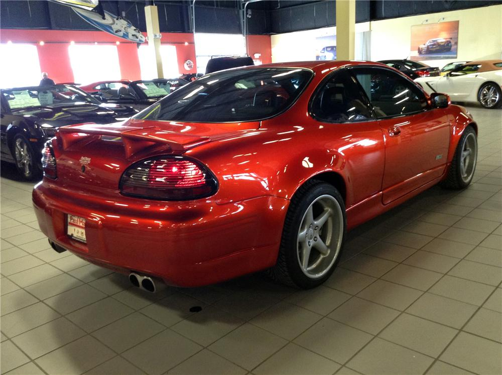 1998 PONTIAC GRAND PRIX G8 CUSTOM 2 DOOR COUPE - Rear 3/4 - 170383