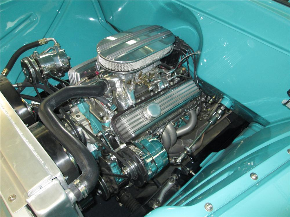 1957 CHEVROLET 3100 CUSTOM PICKUP - Engine - 170389