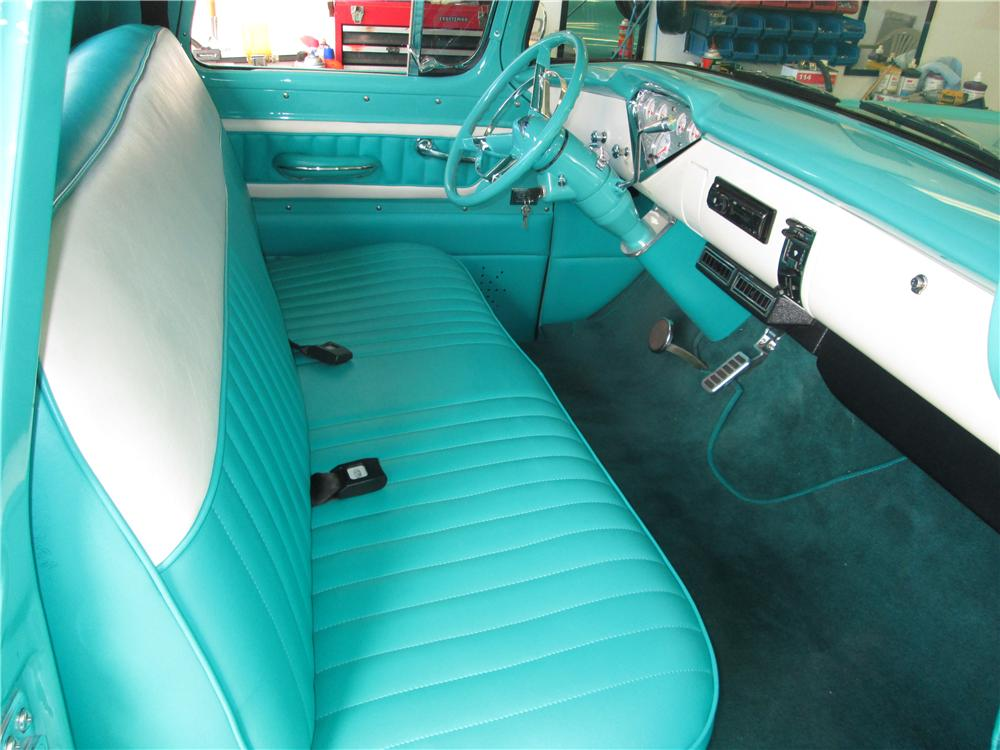 1957 CHEVROLET 3100 CUSTOM PICKUP - Interior - 170389