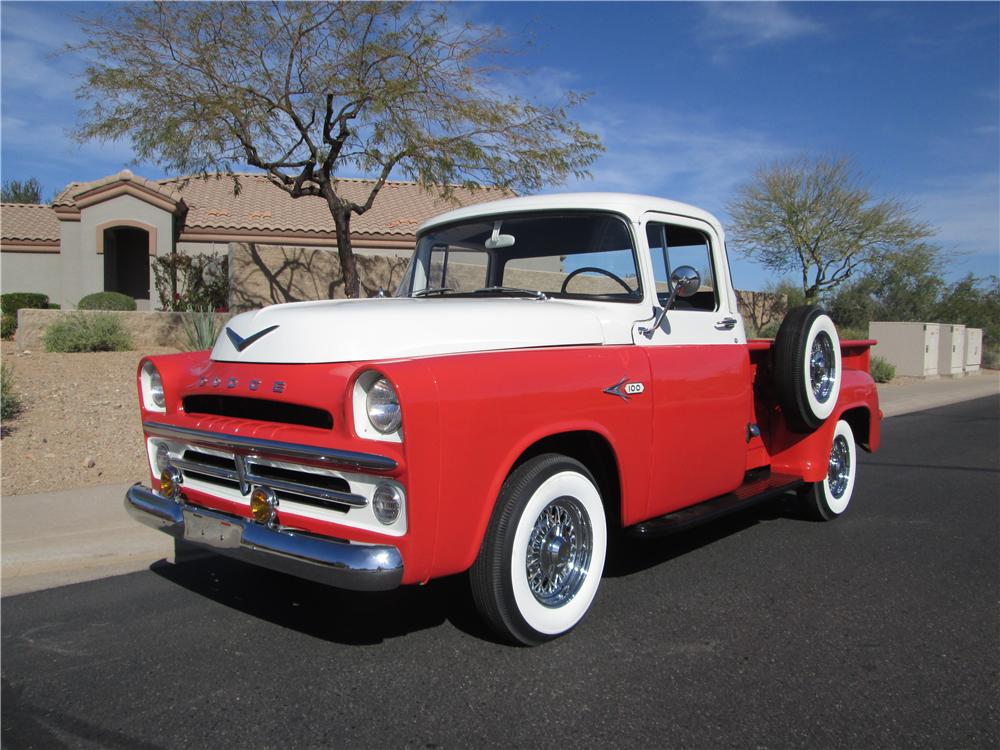 1957 dodge d 100 pickup 170390. Black Bedroom Furniture Sets. Home Design Ideas