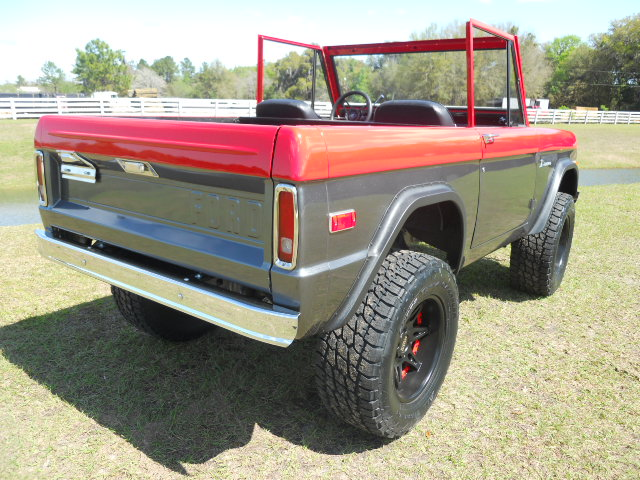 1968 FORD BRONCO  - Rear 3/4 - 170396