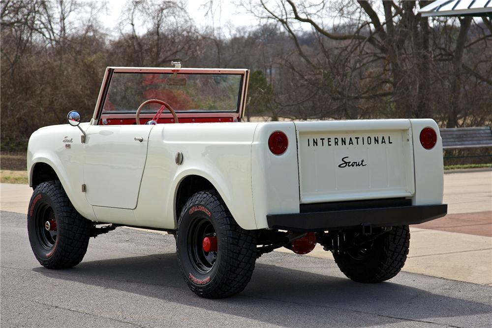 1962 international harvester scout 80 suv 170402. Black Bedroom Furniture Sets. Home Design Ideas