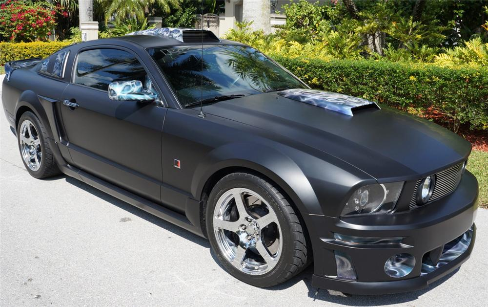 2008 FORD MUSTANG ROUSH STAGE 3 CUSTOM 2 DOOR HARDTOP - Front 3/4 - 170403