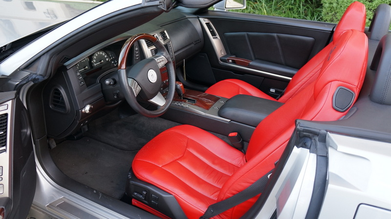 2008 CADILLAC XLR CUSTOM CONVERTIBLE - Interior - 170404