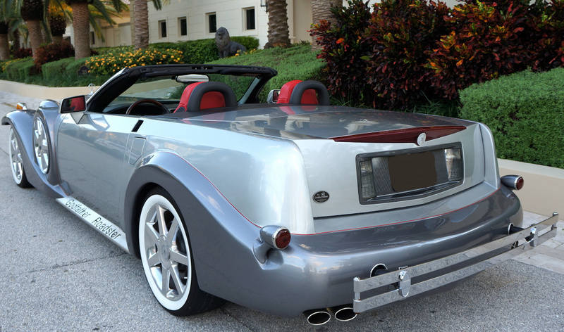 2008 CADILLAC XLR CUSTOM CONVERTIBLE - Rear 3/4 - 170404