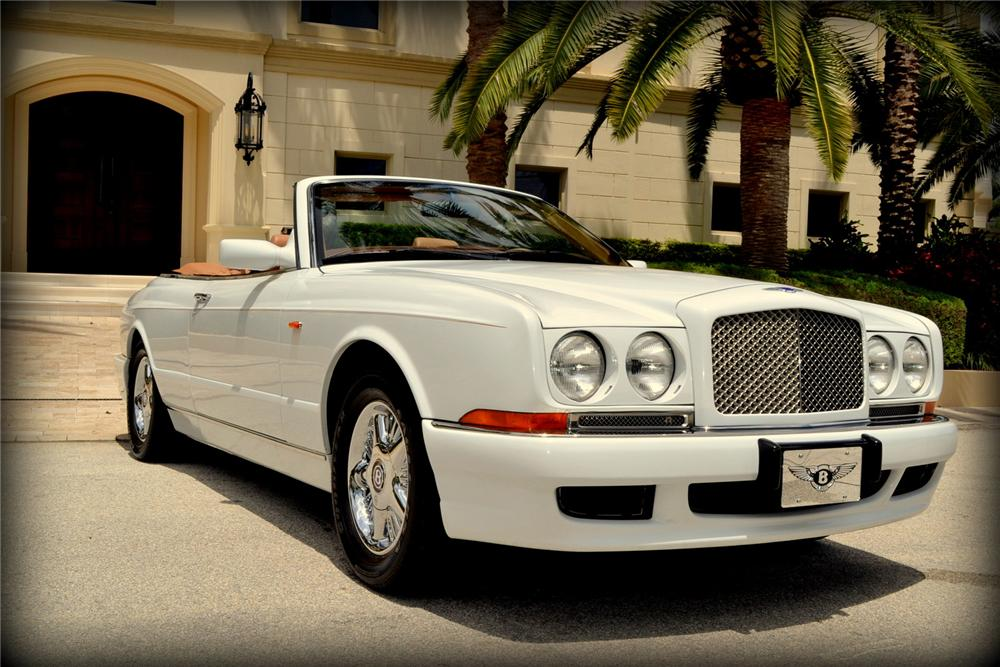 2000 BENTLEY AZURE CONVERTIBLE - Front 3/4 - 170406