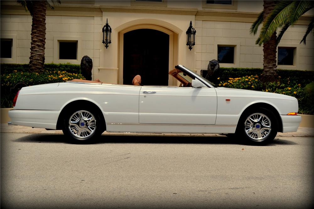 2000 BENTLEY AZURE CONVERTIBLE - Side Profile - 170406