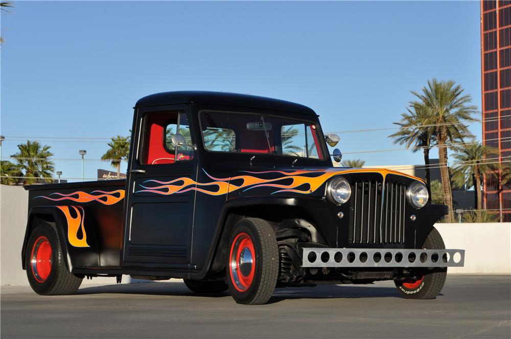 1948 WILLYS CUSTOM PICKUP - Front 3/4 - 170419