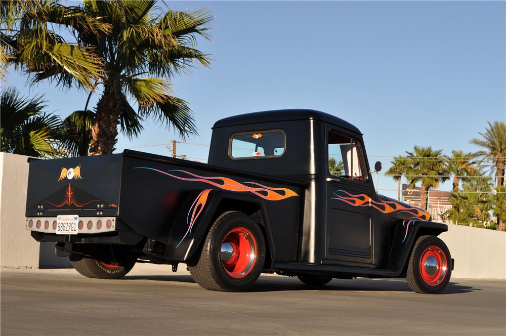 1948 WILLYS CUSTOM PICKUP - Rear 3/4 - 170419