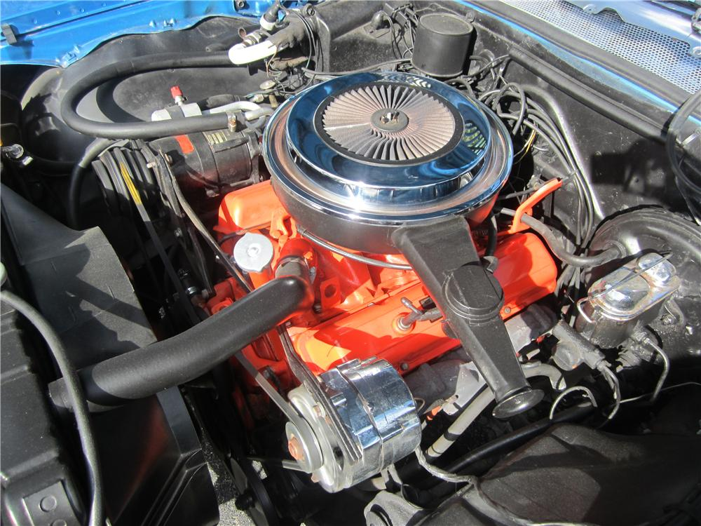 1968 CHEVROLET IMPALA FASTBACK - Engine - 170421