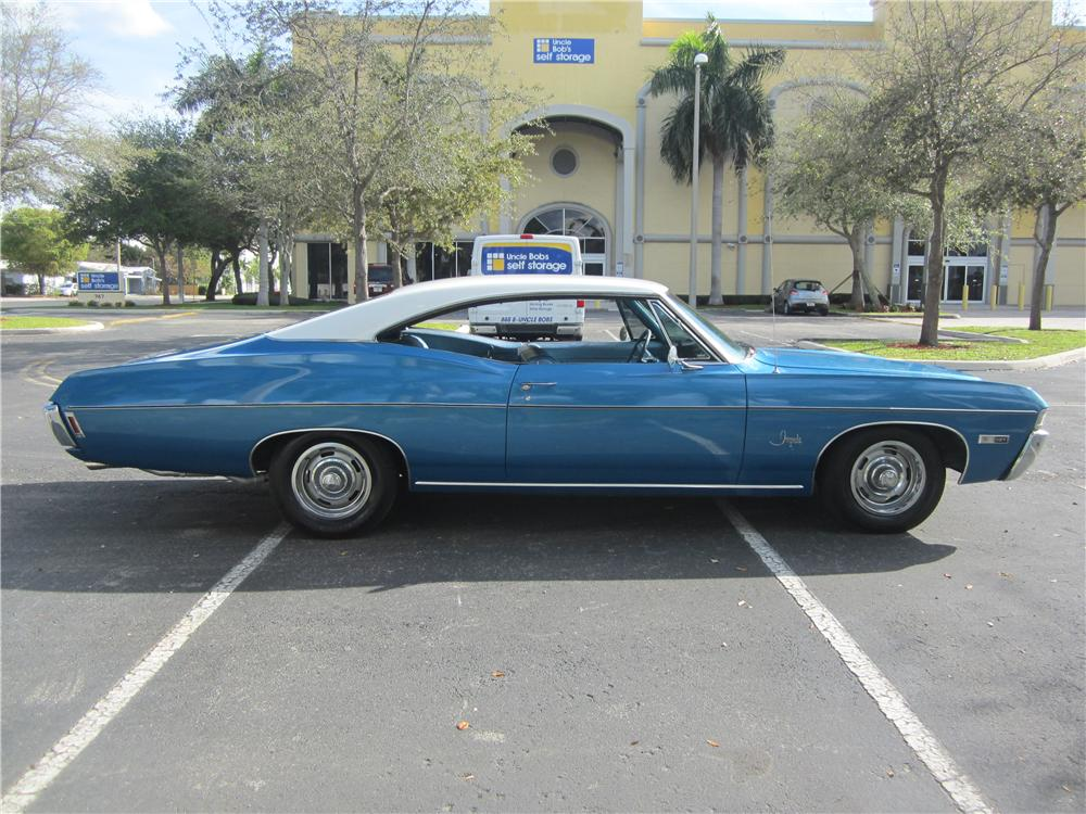 1968 CHEVROLET IMPALA FASTBACK - Front 3/4 - 170421