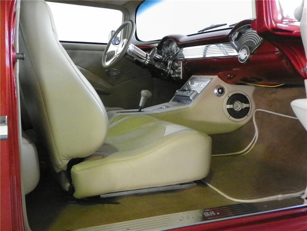 1955 CHEVROLET BEL AIR 2 DOOR HARDTOP - Interior - 170424