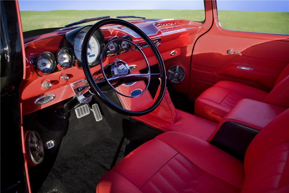 1956 CHEVROLET 3100 CUSTOM PICKUP - Interior - 170425