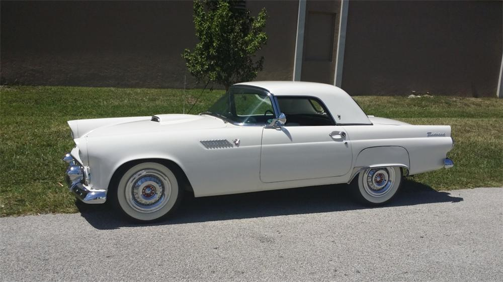 1955 FORD THUNDERBIRD CONVERTIBLE - Front 3/4 - 170429