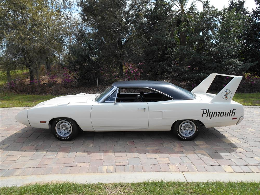 1970 PLYMOUTH SUPERBIRD 2 DOOR HARDTOP - Side Profile - 170431