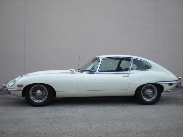 1970 JAGUAR XKE SERIES II 2 DOOR COUPE - Side Profile - 170432