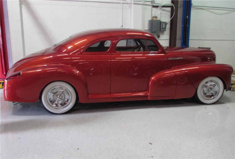1947 CHEVROLET FLEETMASTER CUSTOM 2 DOOR COUPE - Side Profile - 170439
