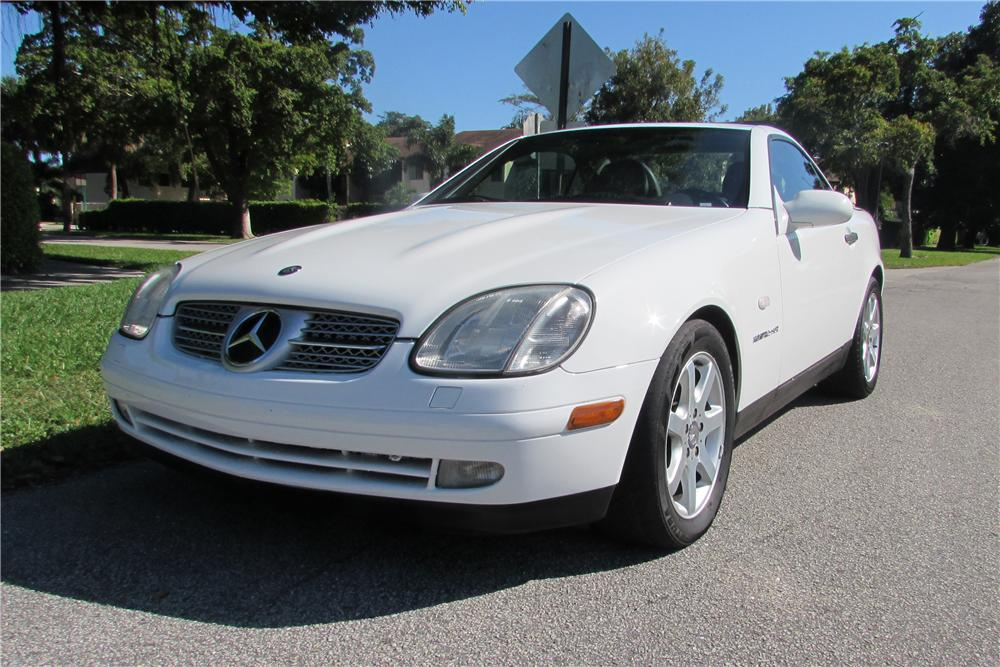 1998 mercedes benz slk230 convertible 170441 for Mercedes benz financial payment address
